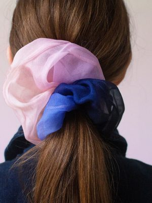 jumbo silk scrunchie luxury gift hair